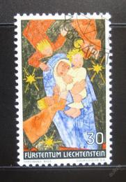 Poštovní známka Lichtenštejnsko 1972 Vánoce Mi# 578