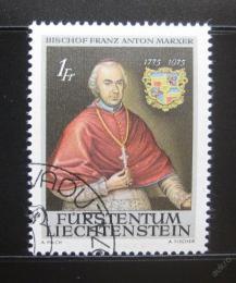 Poštovní známka Lichtenštejnsko 1974 Biskup Marxer Mi# 613