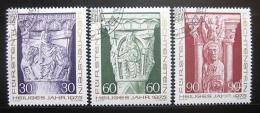 Poštovní známky Lichtenštejnsko 1975 Vánoce Mi# 639-41