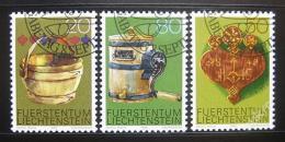 Poštovní známky Lichtenštejnsko 1980 Farmáøské nástroje Mi# 747-49