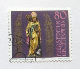 Poštovní známka Lichtenštejnsko 1981 Svatý Theodul Mi# 775