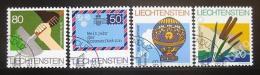 Poštovní známky Lichtenštejnsko 1983 Ochrana pobøeží Mi# 824-27