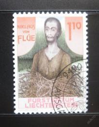 Poštovní známka Lichtenštejnsko 1987 Nicholas Flue Mi# 918