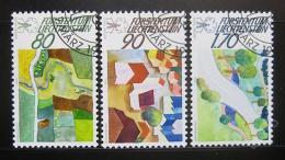 Poštovní známky Lichtenštejnsko 1988 Životní prostøedí Mi# 939-41