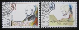 Poštovní známky Lichtenštejnsko 1991 Výroèí Mi# 1013-14