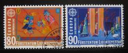 Poštovní známky Lichtenštejnsko 1992 Evropa CEPT Mi# 1033-34