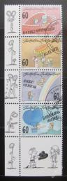 Poštovní známky Lichtenštejnsko 1995 Pozdravy Mi# 1111-14