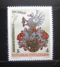 Poštovní známka Rakousko 1982 Tiskaøství Mi# 1701