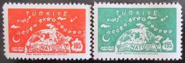 Poštovní známky Turecko 1959 NATO, 10. výroèí Mi# 1621-22