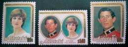 Poštovní známky Aitutaki 1982 Narození Williama Mi# 440,442,444 Kat 10.50€