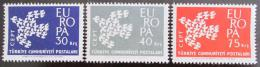 Poštovní známky Turecko 1961 Evropa CEPT Mi# 1820-22