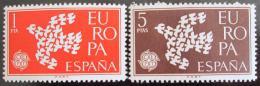 Poštovní známky Španìlsko 1961 Evropa CEPT Mi# 1266-67