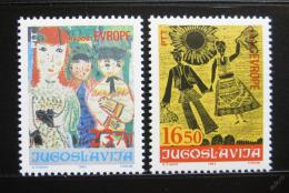 Poštovní známky Jugoslávie 1983 Dìtské kresby Mi# 2002-03