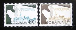Poštovní známky Jugoslávie 1980 Konference bezpeènosti Mi# 1857-58