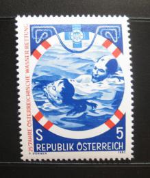 Poštovní známka Rakousko 1982 Vodní záchranná služba Mi# 1698