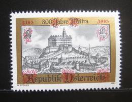 Poštovní známka Rakousko 1983 Weitra, 800. výroèí Mi# 1740