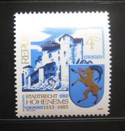 Poštovní známka Rakousko 1983 Hohenems, 650. výroèí Mi# 1741