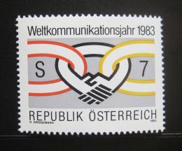 Poštovní známka Rakousko 1983 Rok komunikace Mi# 1731