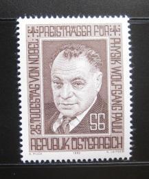 Poštovní známka Rakousko 1983 Wolfgang Pauli, lékaø Mi# 1762
