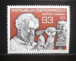 Poštovní známka Rakousko 1984 Anton Hanak, sochaø Mi# 1764