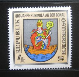 Poštovní známka Rakousko 1981 St. Nikola an der Donau, 800. výroèí Mi# 1693