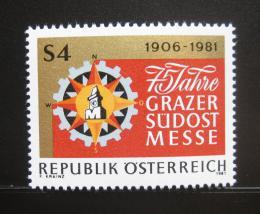 Poštovní známka Rakousko 1981 Veletrh v Grazu Mi# 1682