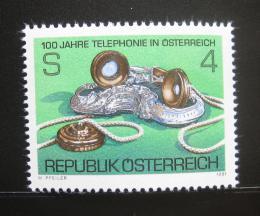 Poštovní známka Rakousko 1981 Telefonní služby Mi# 1672