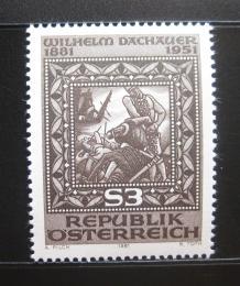 Poštovní známka Rakousko 1981 Umìní, Wilhelm Dachauer Mi# 1666