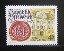 Poštovní známka Rakousko 1981 St. Veit an der Glan Mi# 1675