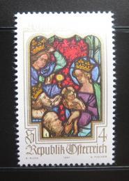 Poštovní známka Rakousko 1980 Vánoce Mi# 1663