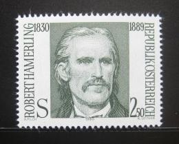 Poštovní známka Rakousko 1980 Robert Hamerling Mi# 1636