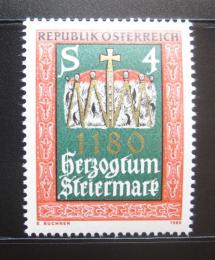 Poštovní známka Rakousko 1980 Štýrské vévodství, 800. výroèí Mi# 1648