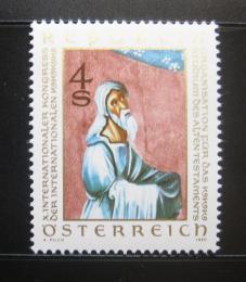Poštovní známka Rakousko 1980 Ilustrace z bible Mi# 1651