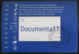 Poštovní známka Nìmecko 2002 Výstava umìní Mi# Block 58