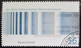 Poštovní známka Nìmecko 2002 Muzeum Nìmecka Mi# 2269