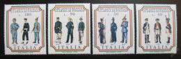Poštovní známky Itálie 1974 Uniformy celníkù Mi# 1447-50