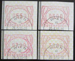 Poštovní známky Rakousko 1995 Známky z automatu, ATM Mi# 3