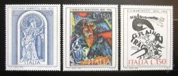 Poštovní známky Itálie 1976 Umìní Mi# 1534-36 - zvìtšit obrázek