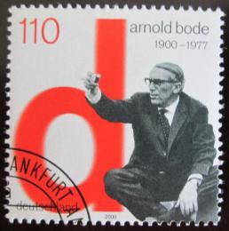 Poštovní známka Nìmecko 2000 Arnold Bode, umìlec Mi# 2155