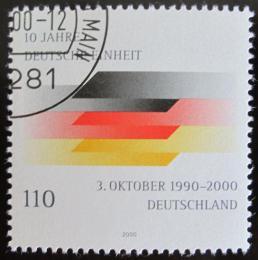 Poštovní známka Nìmecko 2000 Reunifikace Nìmecka Mi# 2142