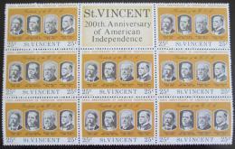 Poštovní známky Svatý Vincenc 1975 Ameriètí prezidenti Mi# 416