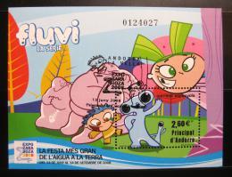 Poštovní známka Andorra Šp. 2008 EXPO Zaragoza Mi# Block 4