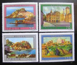 Poštovní známky Itálie 1979 Malby krajin Mi# 1648-51 - zvětšit obrázek