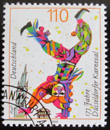 Poštovní známka Nìmecko 2000 Karneval, Dusseldorf Mi# 2099
