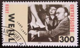 Poštovní známka Nìmecko 2000 Kurt Well, skladatel Mi# 2100 - zvìtšit obrázek