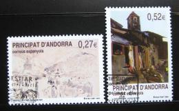 Poštovní známky Andorra Šp. 2004 Umìní, Joaquim Mir Mi# 310-11