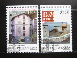 Poštovní známky Andorra Šp. 2002 Architektura Mi# 291-92 Kat 8.50€