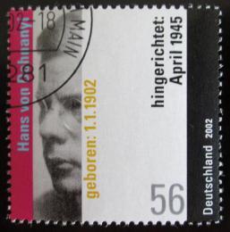 Poštovní známka Nìmecko 2002 Hans von Dohnanyi Mi# 2233