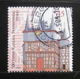 Poštovní známka Nìmecko 2009 Radnice, Frankenberg Mi# 2713