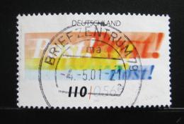 Poštovní známka Nìmecko 2001 Pošta Mi# 2179